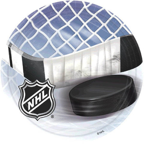 "NHL Ice Time! 7"" Plates 8ct."