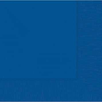 Bright Royal Blue 3-Ply Dinner Napkins 20ct.