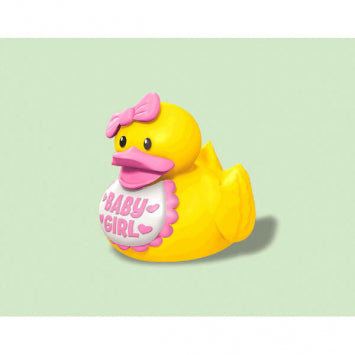 Baby Girl Rubber Duck Favors 3ct.