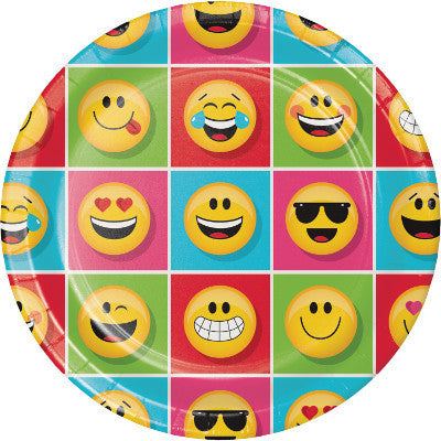 Show Your Emojions Lunch Plates 8ct.