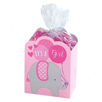 Baby Girl Favor Box Kit 8ct.