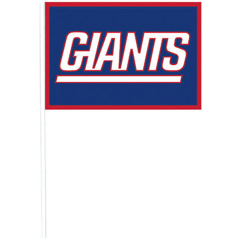 New York Giants Plastic Flags 12ct.