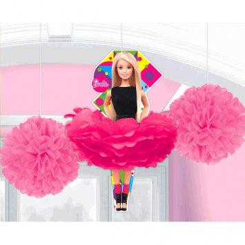 Barbie Sparkle Fluffy Decorations