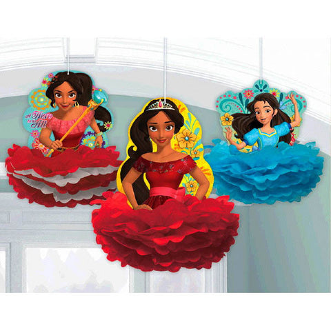 Elena of Avalor Fluffy Decorations 3ct.