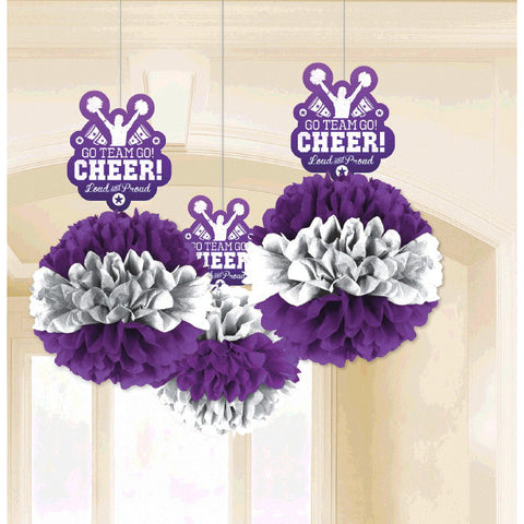 Spirit Squad Deluxe Fluffy Decorations