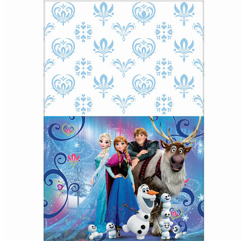 Frozen Magic Plastic Table Cover