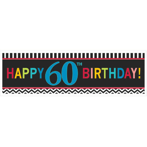 60th Celebration Giant Sign Banner