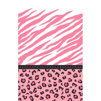 Sweet Safari Girl Paper Table Cover