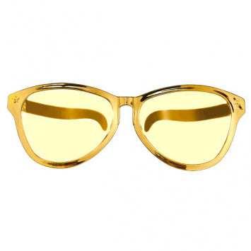 Gold Jumbo Glasses
