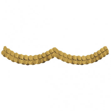 Gold Paper Garland 12'