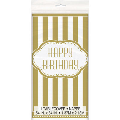 Golden Birthday Tablecover