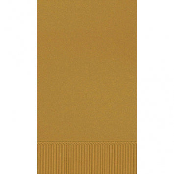 Gold 3-Ply Guest Towels 16ct.