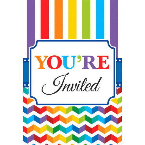 Bright Birthday Value Pack Postcard Invitations 20ct.