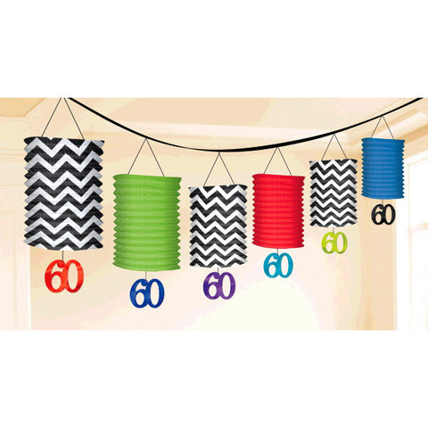 60th Celebration Lantern Garland