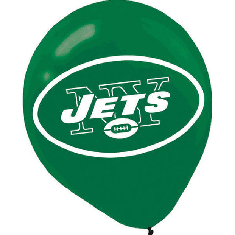 New York Jets Latex Balloons 6ct.