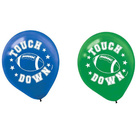 Football Latex Balloons 6ct.
