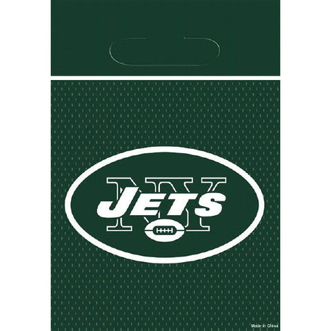 New York Jets Loot Bags 8ct.
