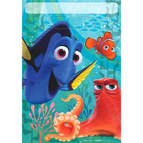Finding Dory Folded Loot Bag 8ct.
