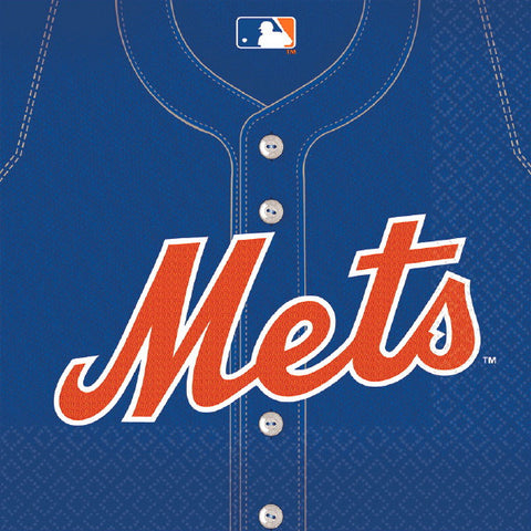 New York Mets Luncheon Napkins 36ct.