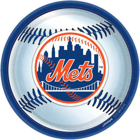 New York Mets Plates, 9""