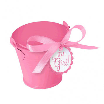 Baby Girl Favor Pail Kit 8ct.