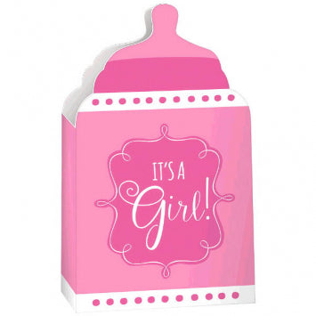Baby Girl Paper Bottle Containers 24ct.