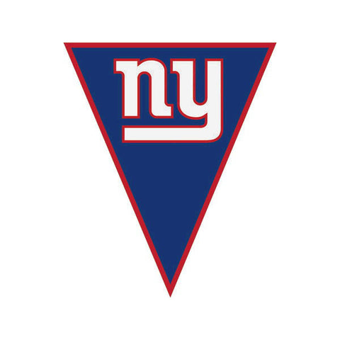 New York Giants Pennant Banner