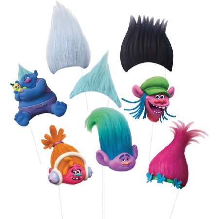 Trolls Photo Booth Props 8ct.