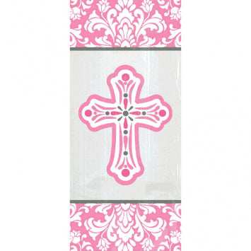 Religious Pink Small Party Bags 20ct.