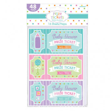 Baby Shower Prize Tickets 48ct.