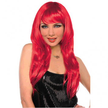 Red Glamourous Wig
