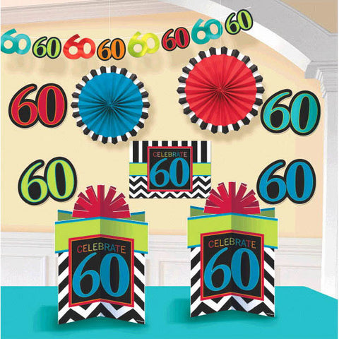 60th Celebration Decorating Kit