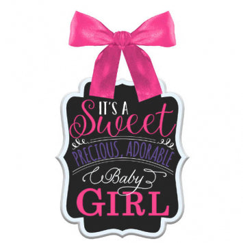 Baby Girl Shower Sign