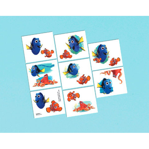 Finding Dory Tattoos 1 Sheet 8ct.