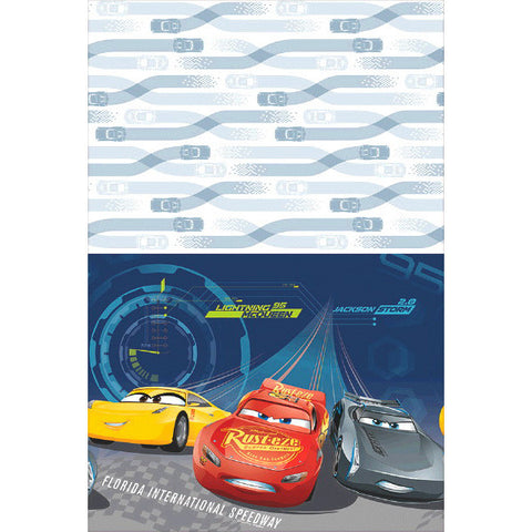 Disney Cars 3 Plastic Tablecover