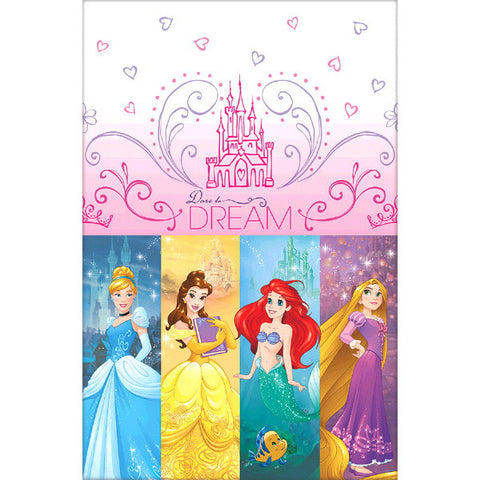 Princess Dream Big Plastic Table Cover