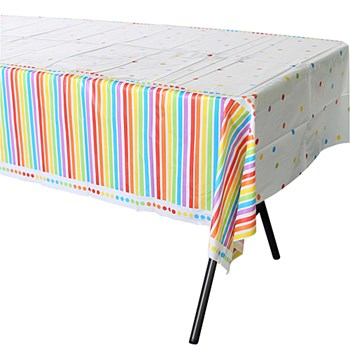 Rainbow Birthday Table Cover