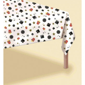 Director's Cut Plastic Table Cover - Popcorn