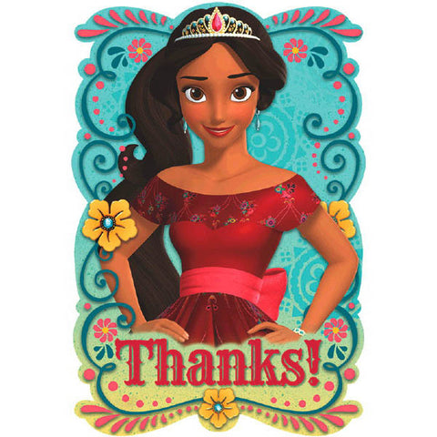Elena of Avalor Postcard Thank You Cards 6ct.