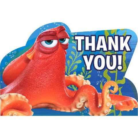 Finding Dory Postcard Thank You 8ct.