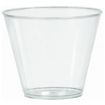 Clear 9oz. Plastic Tumblers 72ct.