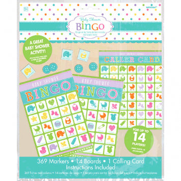 Baby Shower Value Bingo 2 to 14 Players
