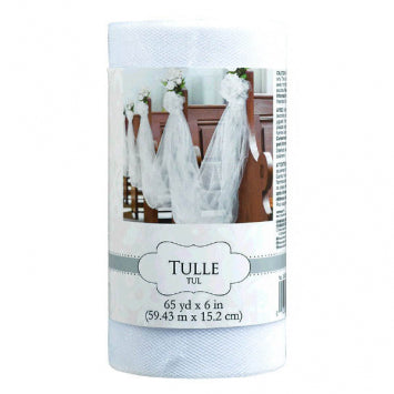 White - Tulle Spool