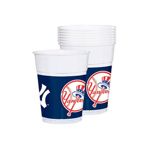 New York Yankees Plastic Cups 25ct.