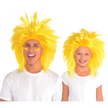 Yellow Crazy Wig