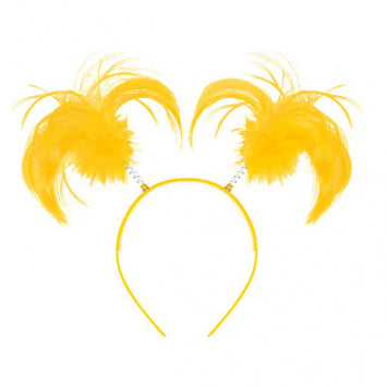 Yellow Ponytail Headband