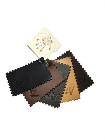 4V Design WLS-BBG8x5 Leather Samples Set