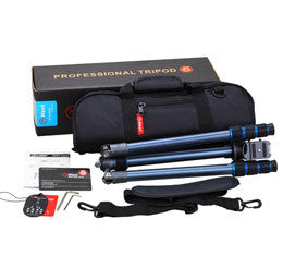 OPEN BOX - TRAVELLER NT-6264AK ALUMINUM TRIPOD / MONOPOD KIT