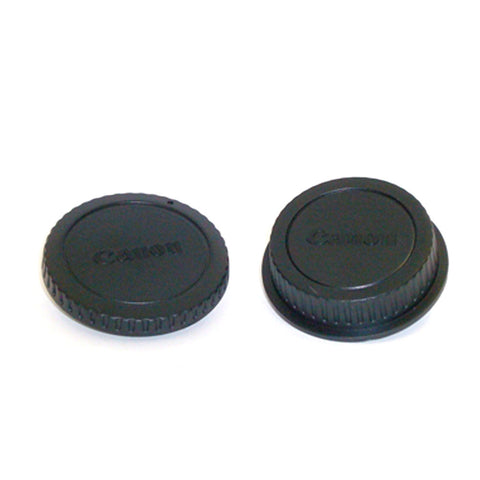 ProTama Camera Body and Lens Rear Cap Kit for Canon