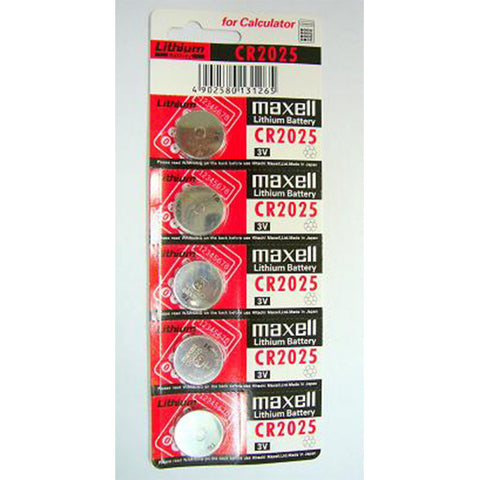 Maxell 3V Lithium Battery (CR2025)